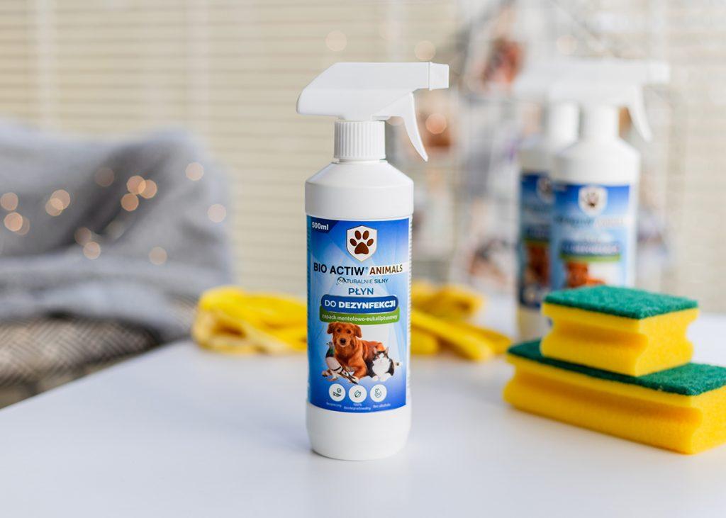 Naturalny płyn do dezynfekcji